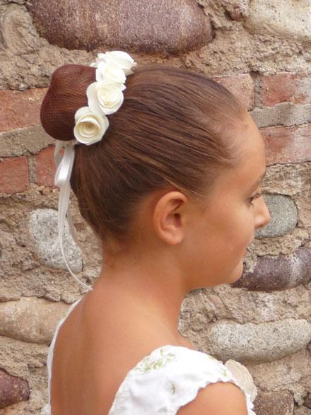 Popolare Tutorial: accessori per capelli con roselline di carta KC31