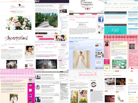 Miglior blog nozze partecipanti