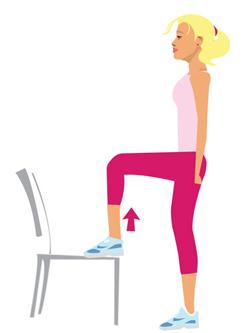 Step Up - un esercizio semplice ed efficace