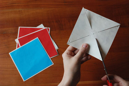 Tutorial: Girandole di carta fai da te