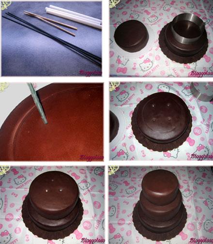 come formare una torta multipiano