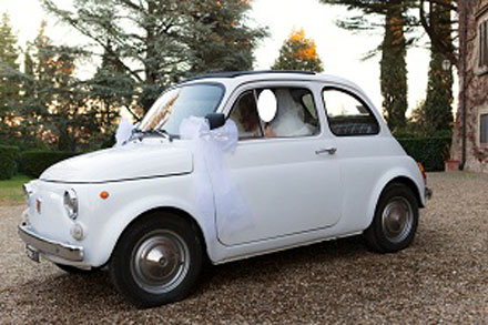 Fiat 500 matrimonio low cost Firenze