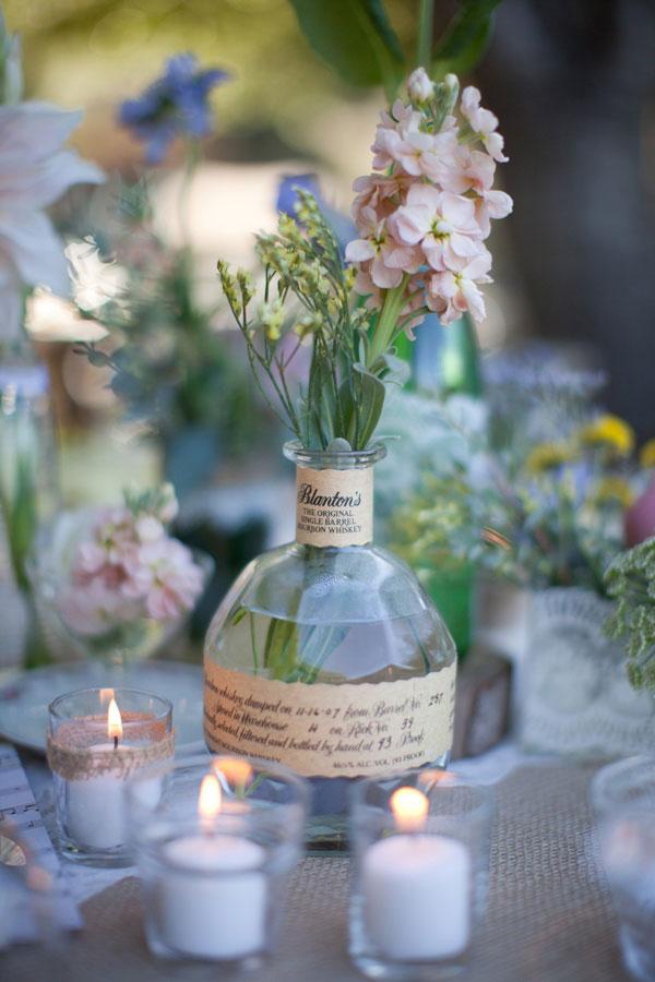 Centrotavola Matrimonio Rustico : Nozze low cost i fiori del tuo giardino
