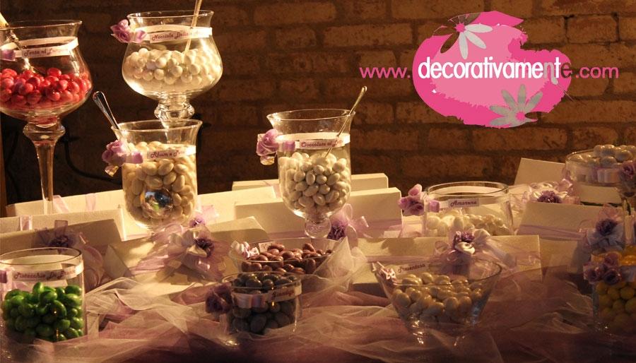 Confettata fai da te con decorativamente - Addobbi tavoli per 18 anni ...