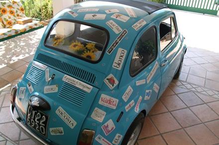 auto sposi con lo sponsor