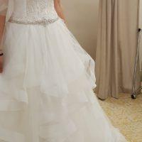 Elegante e sfizioso abito da sposa_collezione Eddy K 2018