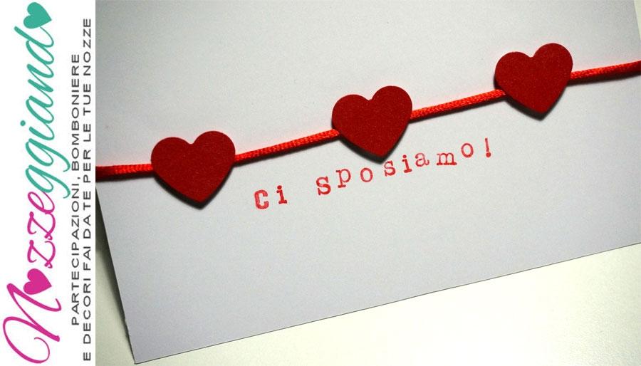 Molto Partecipazioni Matrimonio Fai da Te: Partecipazioni di Nozze On  VH52