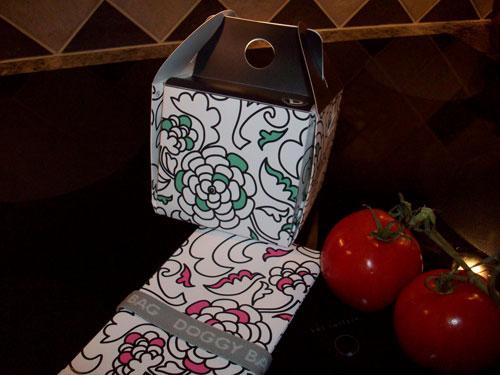 sacchetti di carta per conservare il cibo