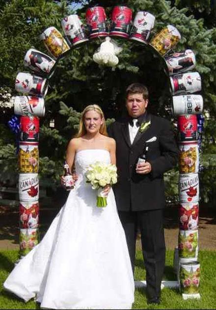 sposi con lo sponsor