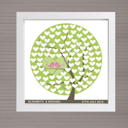 guest-book-albero-verde-cuori