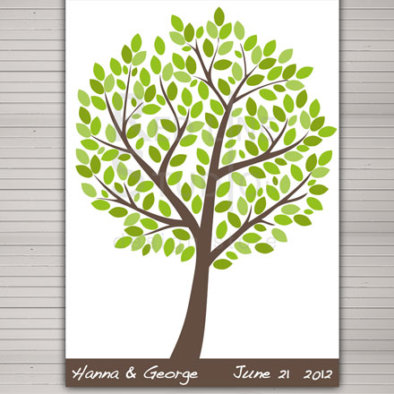 guest-book-albero-verde