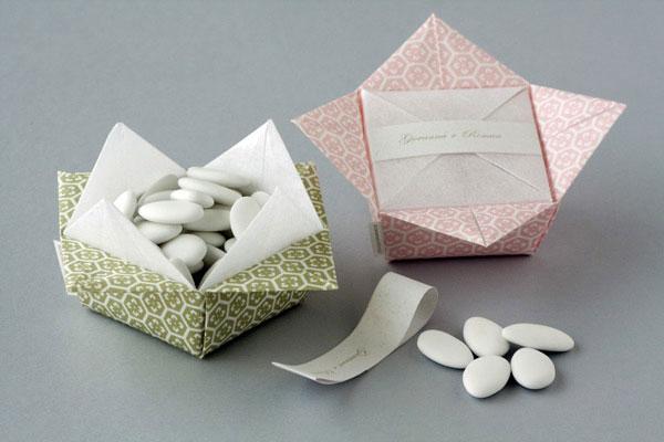 portaconfetti origami