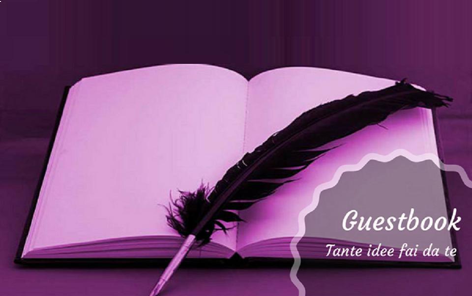 Idee Per Il Matrimonio Fai Da Te : Guestbook matrimonio fai da te come trovare l idea giusta per