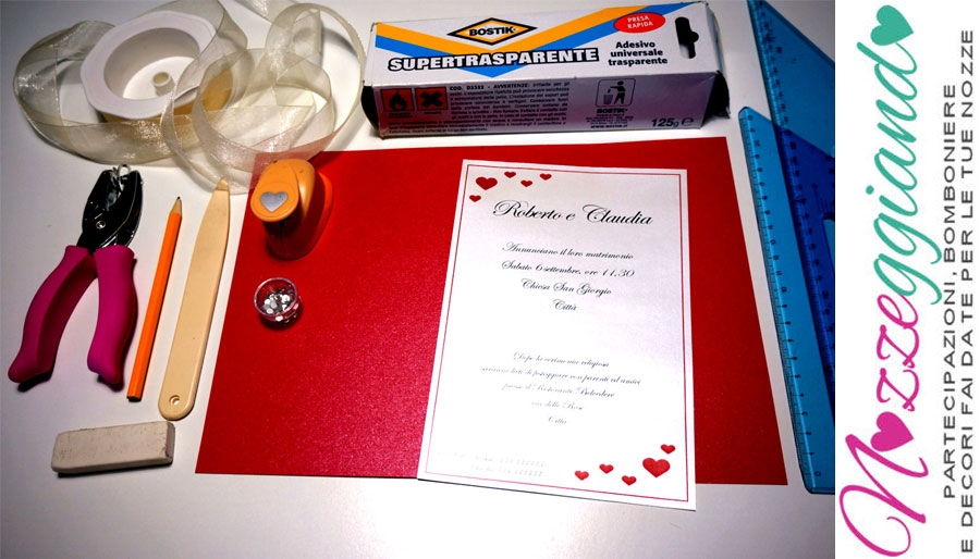Tutorial Partecipazioni Matrimonio.Tutorial Partecipazione Xxl