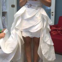 Vestito sposa doppio, modello GRITTI SPOSE