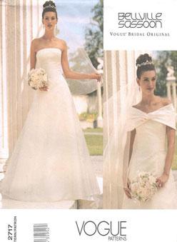 19d0e7d37f0e Anche in Italia è possibile acquistare cartamodelli per realizzare da sole  il vostro abito da sposa.