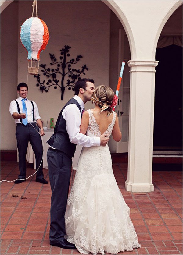 Pinata matrimonio
